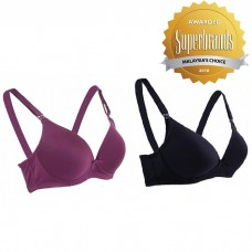 f6b3b9b4c3 Autumnz - Maya Moulded Maternity Nursing Bra (No Underwire) - Twin Pack