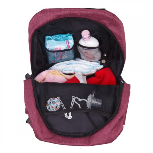 9ac1f684c746 Autumnz - Perfect Diaper Backpack - Ruby