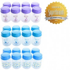 Autumnz - Wide Neck Breast Milk Storage Bottles *5oz* (8 btls) - Tripple Pack