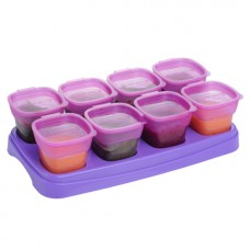 EASY Breast Milk & Baby Food Storage Cups (2oz) - Plum
